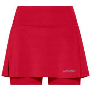 Head basic skort red