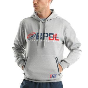Bullpadel hoodie teller grey