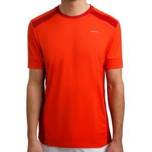 Head uni t-shirts orange/rood