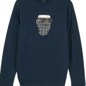 Vieux jeu sweater boldnavy