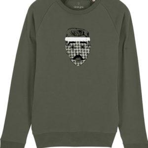 Vieux jeu sweater mouchekaki