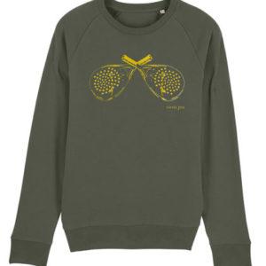 Vieux jeu sweater racketkaki
