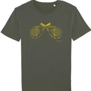 Vieux jeu T-shirt racketkaki