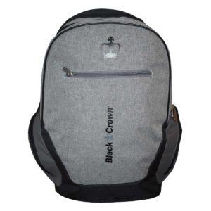 Black Crown bag pack dark grey