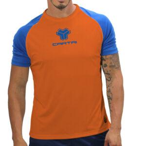Cartri match naranja azul