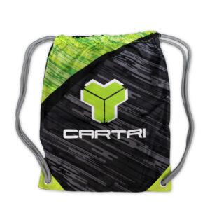 Gymsack Cartri Negro Verde