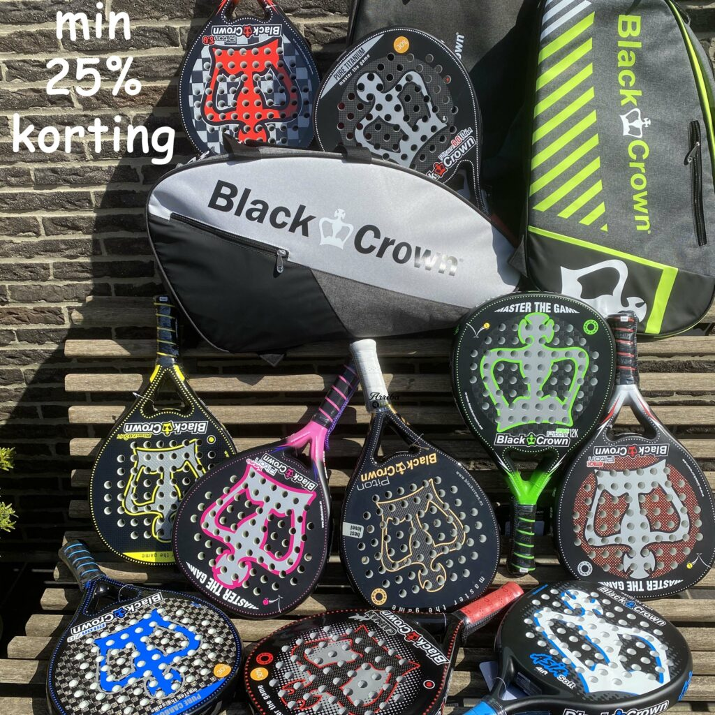 Black Crown 25% korting