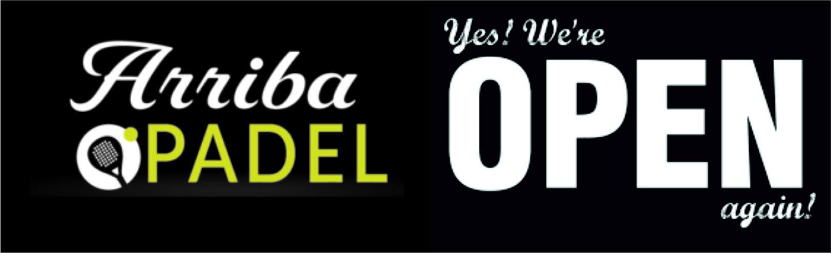 Arriba-padel back open