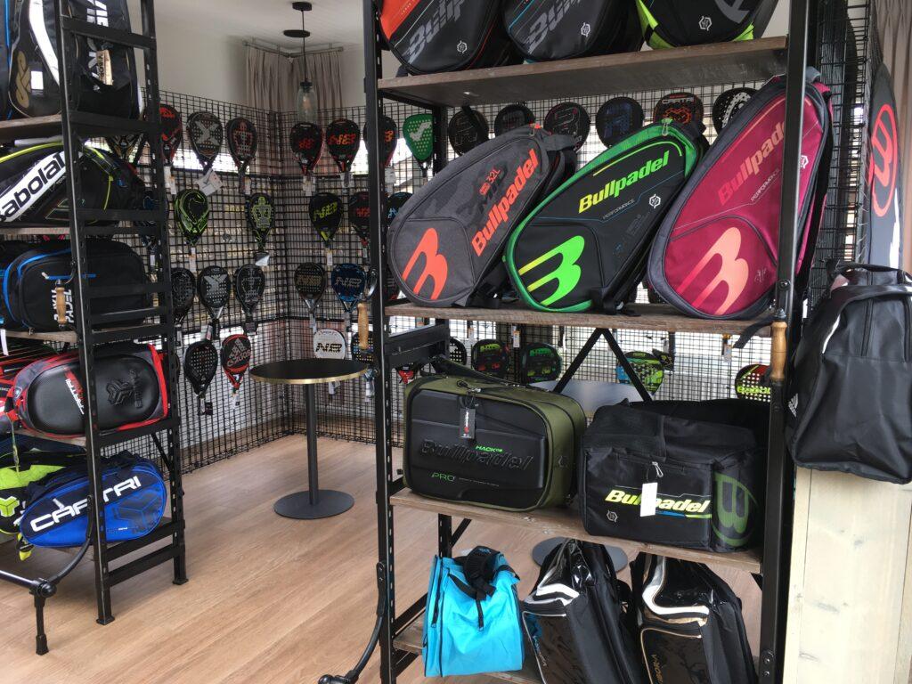 the new Arriba-padel shop