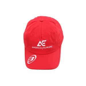 Bullpadel AE line cap red