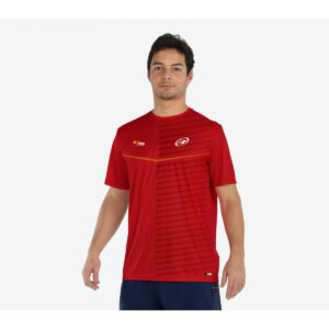 Bullpadel T-shirt folco red 21