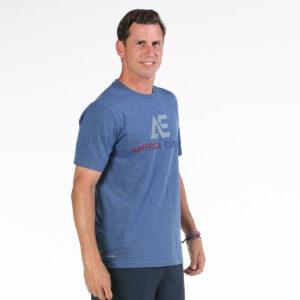 Bullpadel Ae line T-shirt Hacari blue