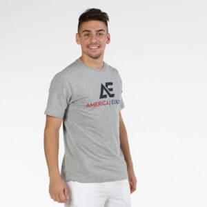 Bullpadel AE line T-shirt Hakari gris