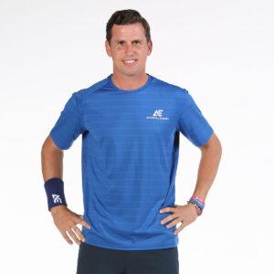 Bullpadel AE line T-shirt Igara blue