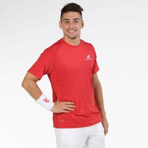 Bullpadel AE line T-shirt Igara red