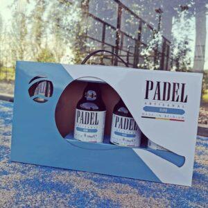 Padelbier geschenkverpakking